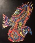 Firebird-55x65cm